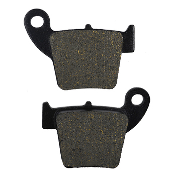 Motorcycle Rear Brake Pads for HONDA CR125 CR 125 2002-2007 CRF150R CRF 150R 2007-2016 CR250 CR 250 CR250R CR 250R 02-07 image