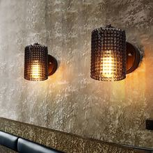Creative Wall Lamps Iron Bicycle Chain Sconces for Restaurant Bedroom Decorative Wall Lights Lamparas Home Lighting Fixture