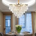 LED K9 Хрустальные подвесные светильники  Светильники для спальни  гостиной  подвесные светильники  лобби отеля  роскошные подвесные лампы