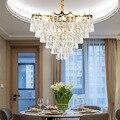 LED K9 kristall anhänger lichter Nordic schlafzimmer leuchten wohnzimmer hängen lichter hotel lobby luxus anhänger lampen