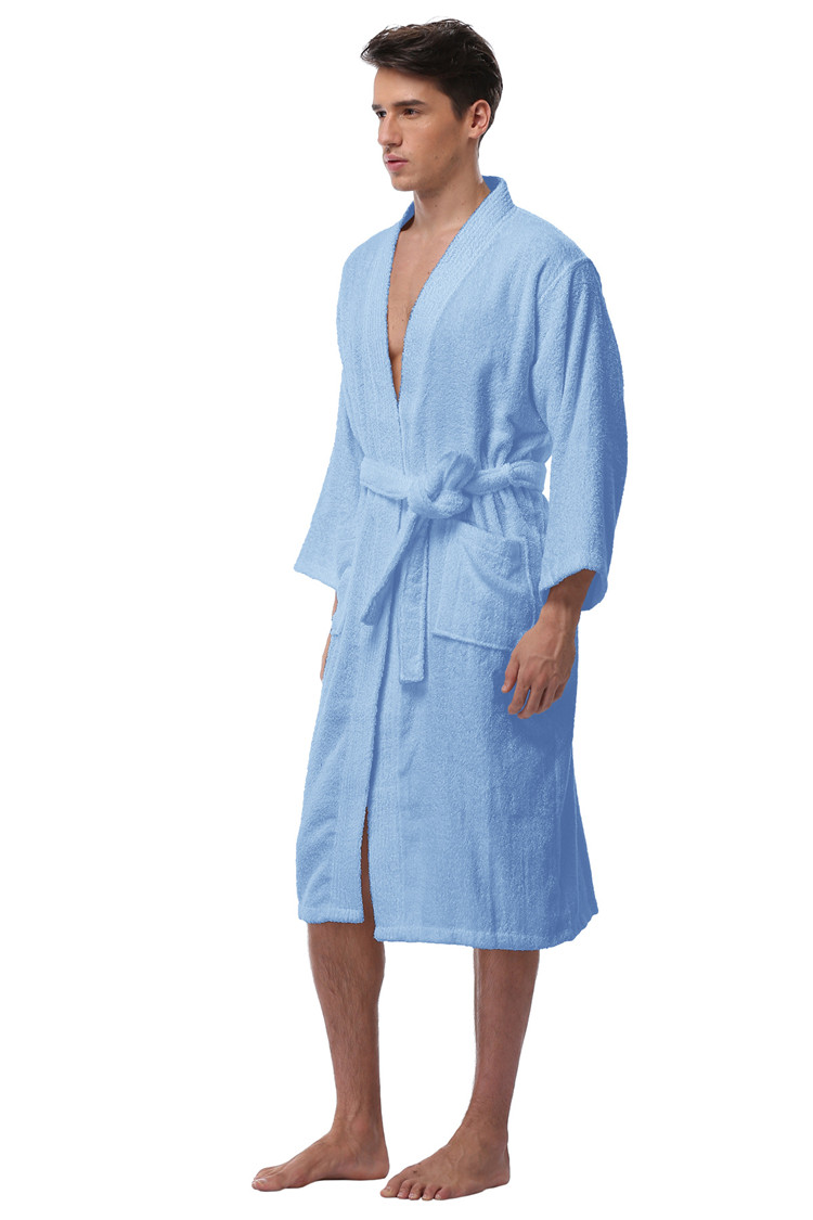 b3a125a6d1 ... Cotton Robes Plus Size Lightweight Long Robe For Men Absorption After  Shower Bathrobe Sleepwear. size chart. size product show. (1) (3) (7) (6)  (2) ...