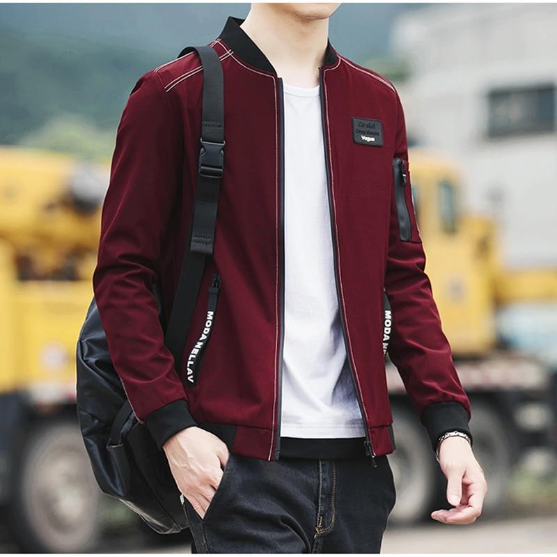 HCXY 2017 New Men Jacket Spring Autumn Fashion Brand Slim Fit Coats Male Baseball Bomber Jacket Mens Coat large size 5XL 1
