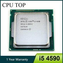 Intel Core i5 4590 מעבד Quad Core 3.3GHz L3 6M 84W Socket LGA 1150 שולחן העבודה מעבד