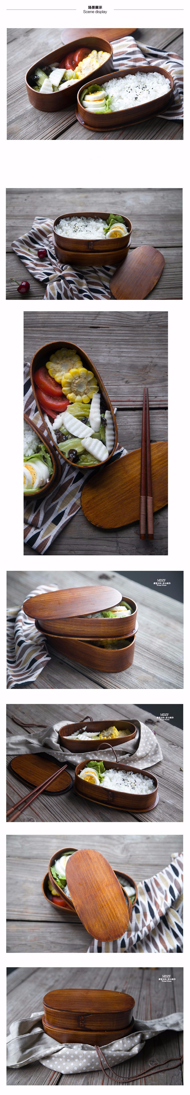 cheap bento boxes wood lunch boxes 1