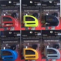 Racing motorcycle alarm lock riding bike alarm lock Motorcycle Bicycle Disc Brake Lock Security Anti-theft Alarm Lock