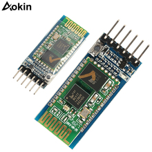 50 sztuk/partia HC05 HC 05 Master Slave 6pin JY MCU anty wsteczny zintegrowany moduł transmisji szeregowej Bluetooth bezprzewodowy szeregowy