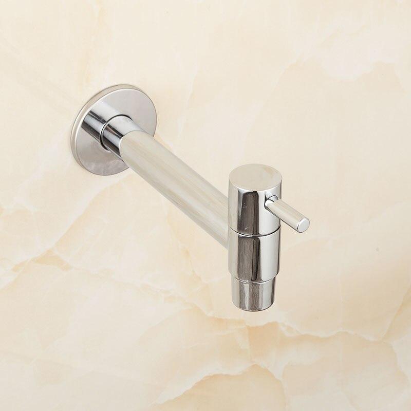 Extra Lange Chrom Poliert Wasche Bad Wetroom Kuche Wand Montiert