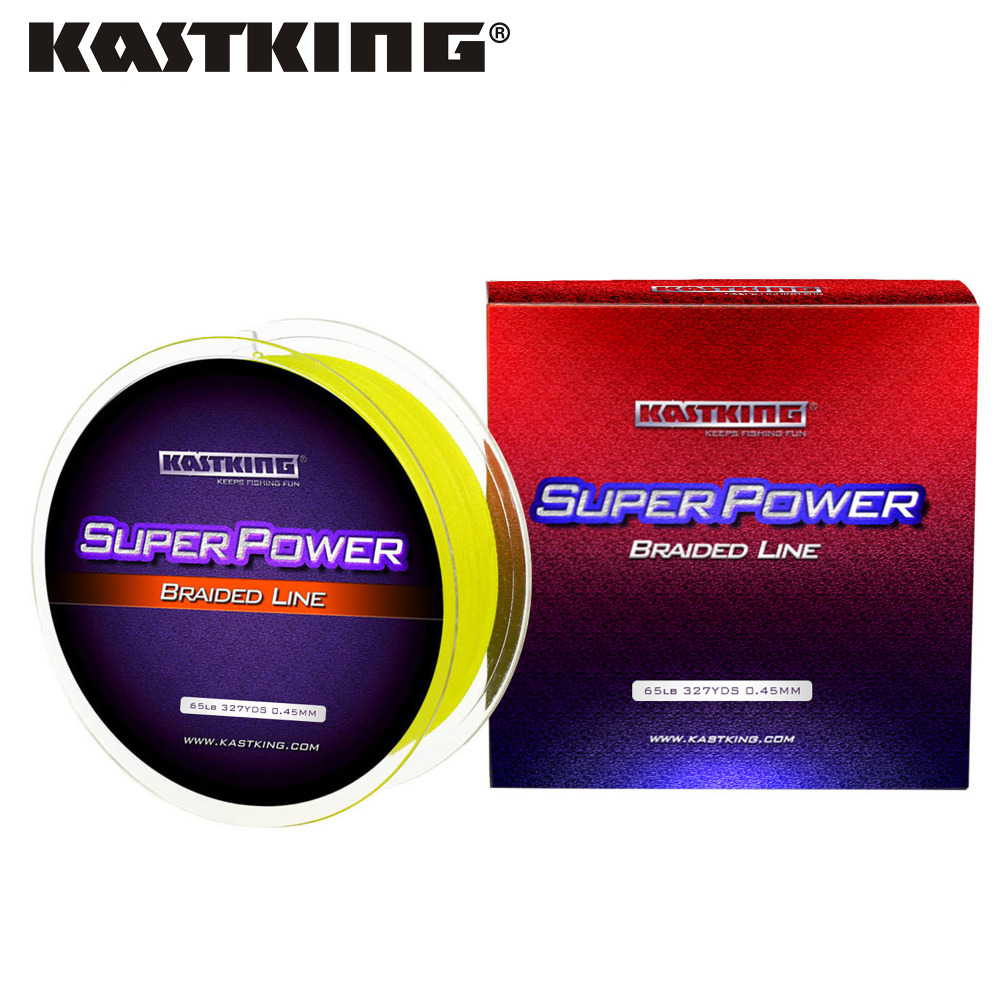 KastKing Fluorocarbon Fishing Line 300Yds//4LB Clear Bass Lure Fishing Line