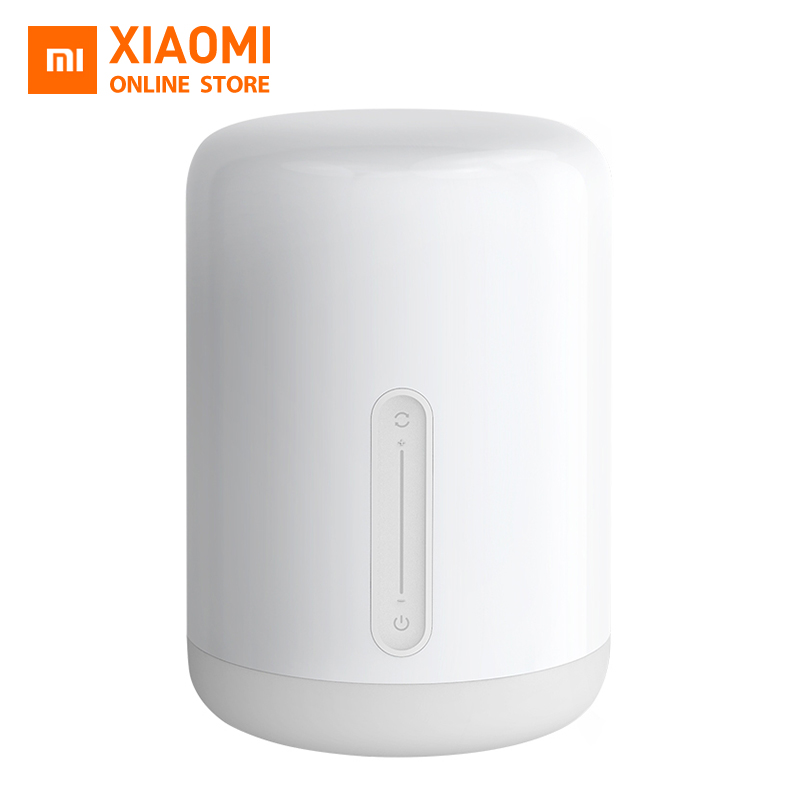 Original Xiaomi Mi Bedside Lamp 2 Mijia Smart Light Indoor Bed Light Colors Changing Bluetooth WiFi