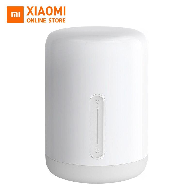 Ausdauernd Original Xiao Mi Mi Nacht Lampe 2 Mi Jia Smart Licht Indoor Bett Licht Farben Ändern Bluetooth Wifi Touch Control Lampe Einfach Und Leicht Zu Handhaben Lampen & Schirme Schreibtischlampen