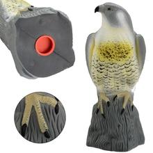 Реалистичный Сокол Сова Декор ястреб отпугиватель птиц поддельные пугало охотничьи приманки борьба с вредителями