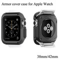 2016 ON Hot Sale  New Arrival Ultra Thin Armor Case Covers Silicone Soft Cover For Apple Watch i watch 38mm 42mm Protective Case