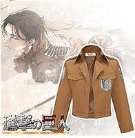 Attack on Titan Jacket Halloween Costume for women men Mikasa Ackerman Coat Cosplay cartoon Jackets Armin ArlartXC 7043