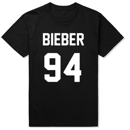 custom fashion shop Bieber 94 Shirt Justin Bieber Shirts T Shirt T-Shirt Tee Shirt Unisex More Size and Colors Baseball