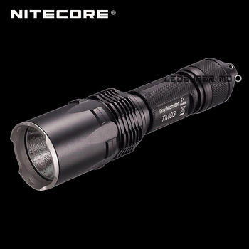 2800 Lumens Tiny Monster Series Nitecore TM03 CREE XHP70 LED 18650 Tactical Flashlight with Free Battery