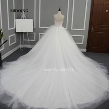 EBDOING Real Photo Wedding Dress Ball Gown Bridal Gown