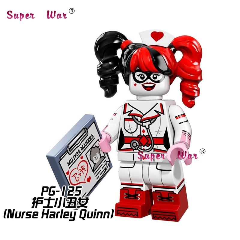 ⑦1 piezas star wars superhero maravilla avengers enfermera Harley ...