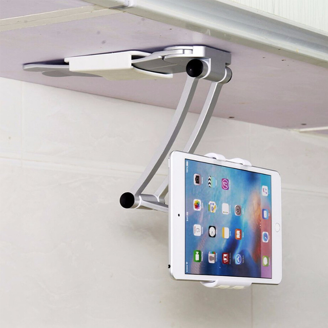 Tablet Mount Stand 2 In 1 Kitchen Wall Counter Top Desktop Mount Recipe  Holder