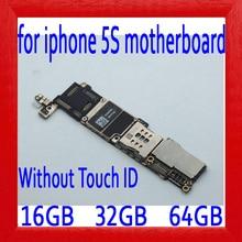 100% оригинал открыл для iphone 5S материнская плата без Touch ID, для iphone 5S логические платы с IOS Системы, 16 gb/32 gb/64 gb