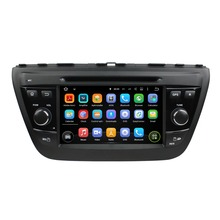 7 Inch Quad Core HD1024*600 Android 5.1 Car DVD Player For SUZUKI For SX4 2014 Car Stereo Multimedia Player Free 8GB MAP Card