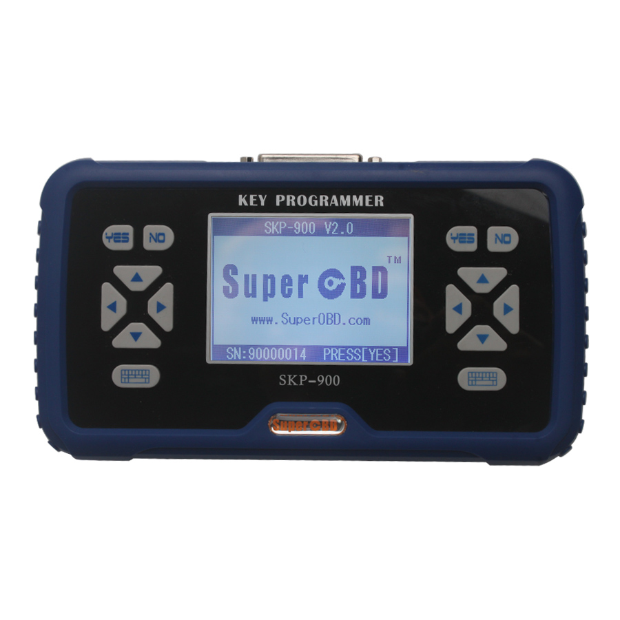 SuperOBD SKP900 V5.0 Hand-Held OBD2 Auto Key Programmer SKP 900 support almost all cars in the world Lifetime Free Update Online