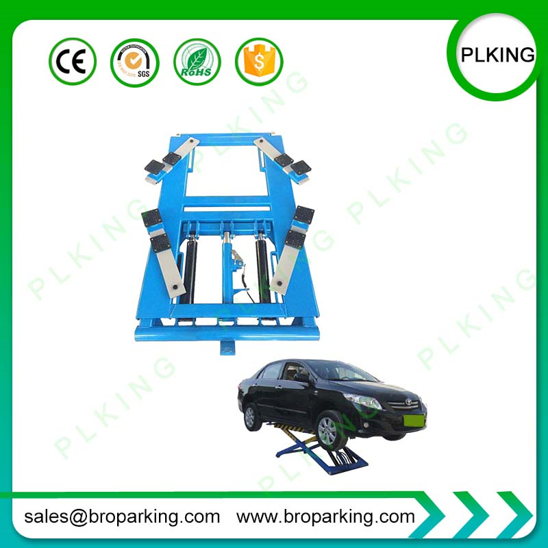 Car Service Lifter With Movable Auto Scissor Lift Supplying From