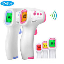 Cofoe Forehead Infrared Thermometer Non-Contact LCD IR Temperature Measurement Diagnostic-tool Device for Baby Child Adult