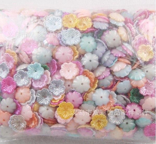 1000 шт./пакет смешивать цвета ABS цветок жемчуг, украшения для волос, карты решений и скрапбукинга, DIY ремесла, рукоделие