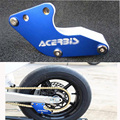 Blue New style  Alloy Chain Guard Guide Protector Chain Roller Dirt Pit Bikes XR CRF 50 70 110 125 140 150 160cc