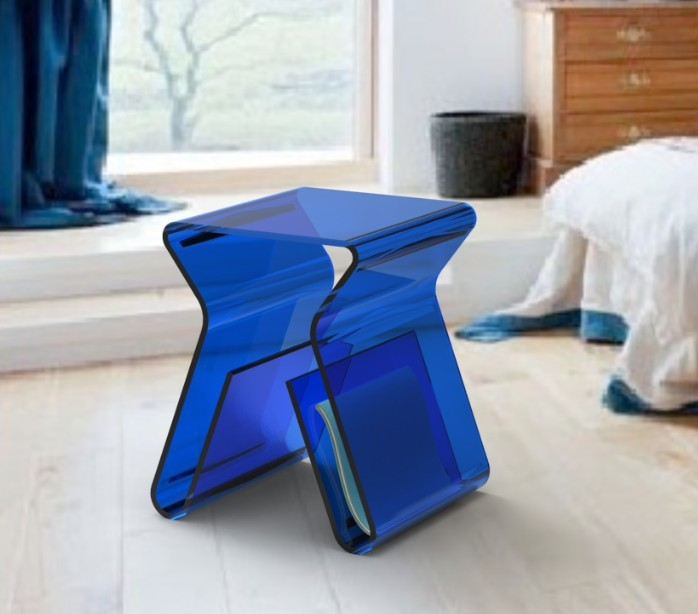 stoolside side end table