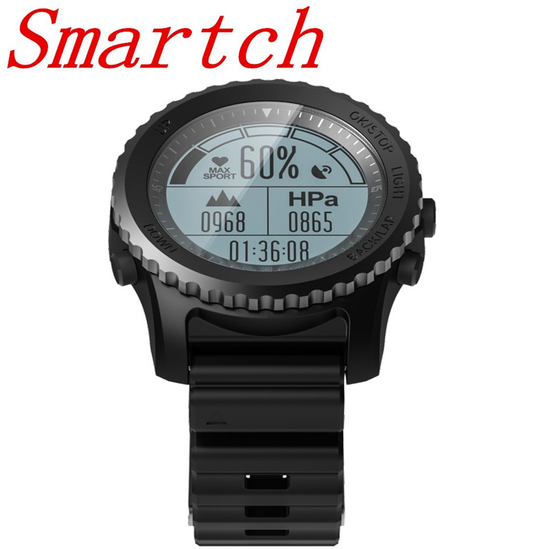 Smartch Wearable Devices Smart Watches S968 Smart Watch Heart Rate Monitor Fitness Tracker IP67 professional GPS pressure smart baby watch q60s детские часы с gps голубые