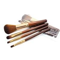 4 PCS/SET High Quality New Women Professional Makeup Brush Set Tools Comestic Toiletry Kit Brand Make Up Brush Set for Beauty