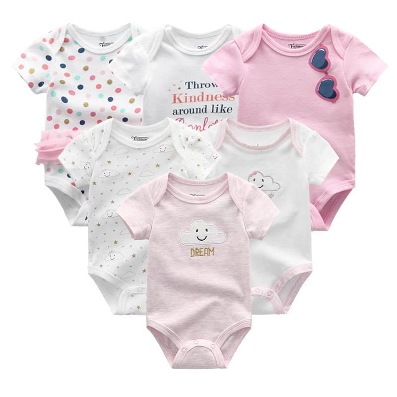 Newborn baby Clothing Sets 100%Cotton Summer baby rompers Short sleeve Clothes Bodysuit Baby Clothes Ropa bebe Baby Boy Clothing