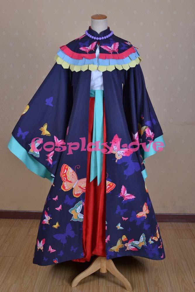 Kamisama Love Hajimemashita Nanami Momozono Kimono Cosplay Costume (7)