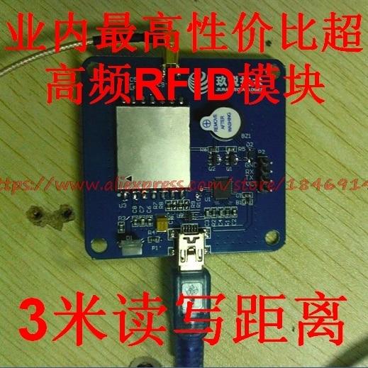 JRM2030  PDA Handheld Tablet UHF Reader Module UHF RFID Handheld Remote Meter Reading 3 Meters