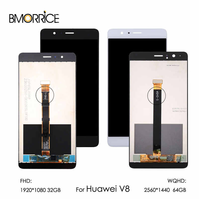 5 7'' For Huawei Honor V8 LCD without Frame For FHD S WQHD J