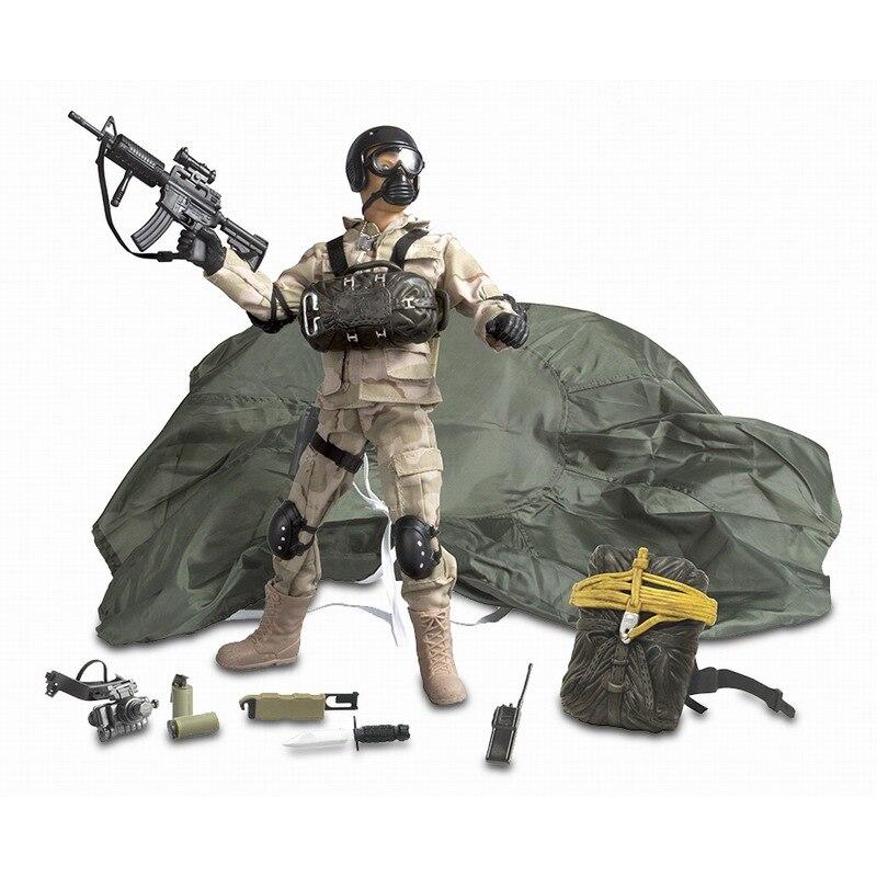 Figuras de acción del soldado de la paz del mundo 1/6 figuras de acción del modelo militar de juguete figura de anime juguetes para niños - 2