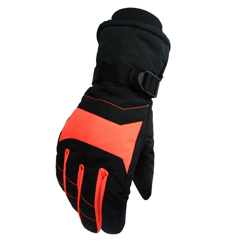 New Windproof Wear-resistant Riding Ski Gloves Mountain Skiing Snowmobile Waterproof Snow Warm Gloves