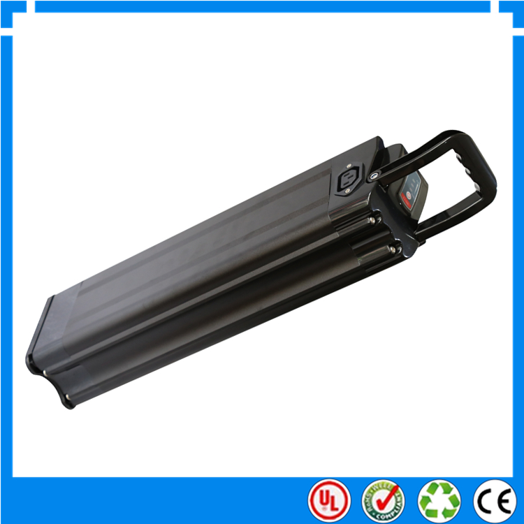 electric bicycle battery silver fish case for electric. Black Bedroom Furniture Sets. Home Design Ideas