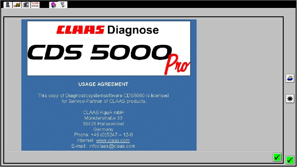 for Claas Diagnostic System CDS 5000-in Software from Automobiles & Motorcycles    1
