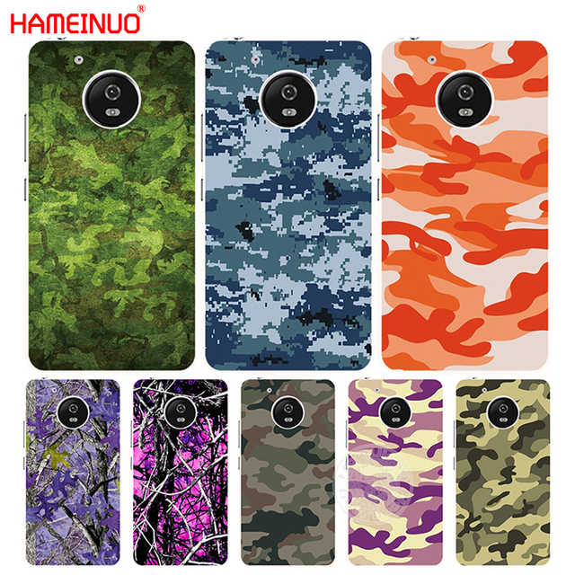 uk availability 7a14a 88f0e US $1.99 32% OFF|HAMEINUO army green Camouflage Camo case cover for For  Motorola moto G6 G5 G5S G4 PLAY PLUS ZUK Z2 pro-in Half-wrapped Case from  ...