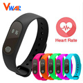 New Bluetooth Smart Band M2 Heart Rate Monitor Waterproof Message/Call Reminder Wristband for Android iOS PK mi band 2