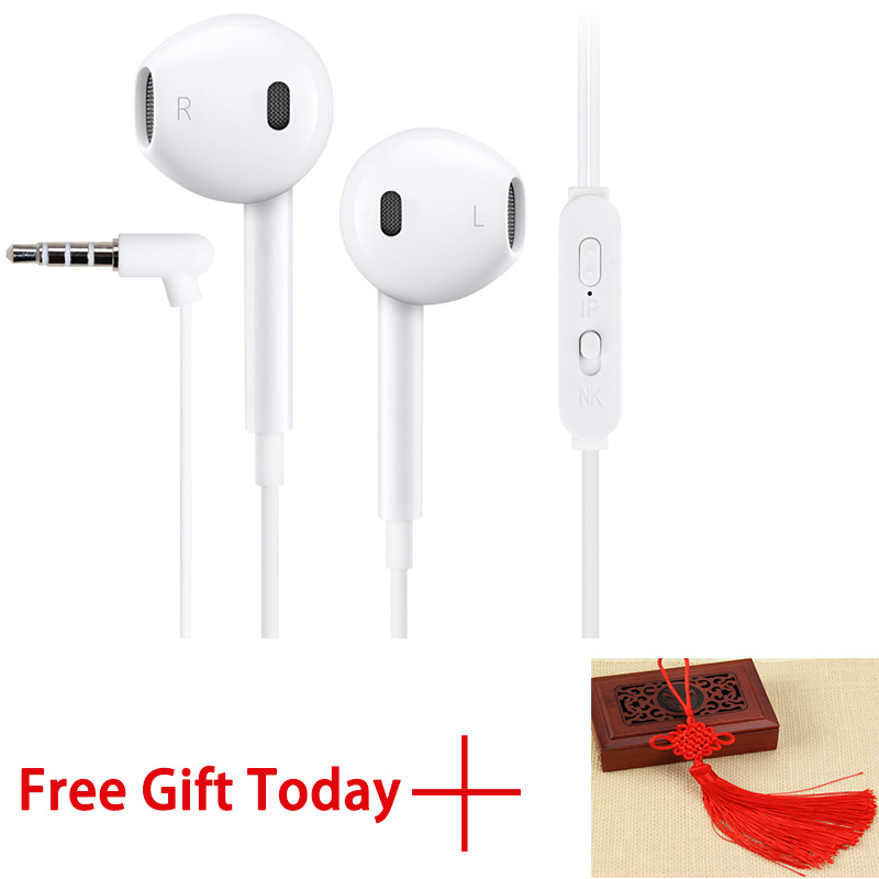 JingTider Stereo Earphones with Microphone Universal High Quality Portable Bass 3.5mm Wired Earphone M1 For Phones Tablets PC