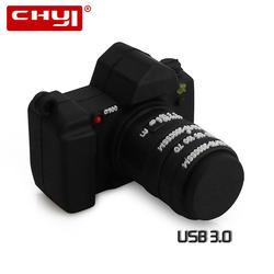 CHYI творческий USB 3,0 модные накопитель драйвер прохладный черный камера в форме Memory Stick 8 ГБ 16 ГБ 32 ГБ 64 ГБ флешки для подарок на день рождения