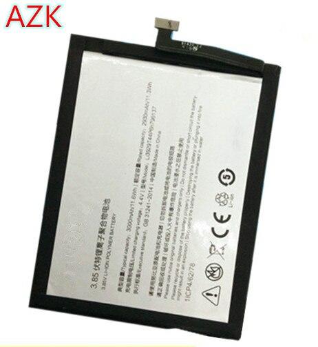 AZK nouveau 3.85V 3000mAh Li3929T44P6h796137 pour ZTE Nubia Z11 MiniS NX549J batterie de téléphone intelligent