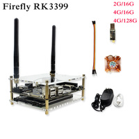 Firefly RK3399: 6 Core 64 bit High Performance 2G/4G DDR + 16G eMMC Dual Cameras Demo Board for AR VR Android 7.1 ubuntu 16.04