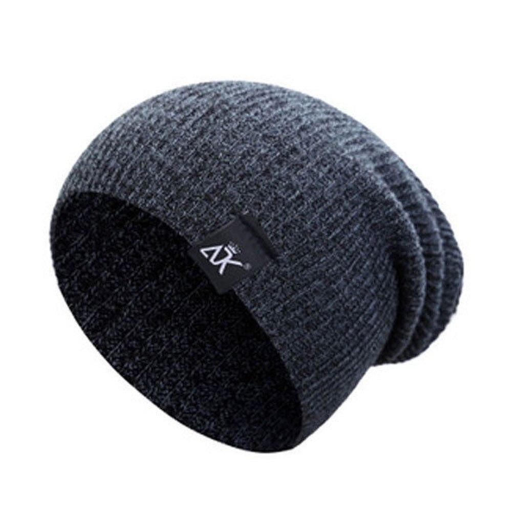 Bonnets laine Chapeaux D'hiver Ski Sports Tricot Unisexe 8