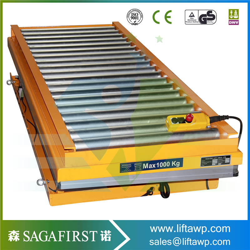Hydraulic Car Stationary Scissor Lift Platform / Car Lift Table  For Hot Sales