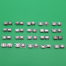40pcs Micro font b USB b font connector font b USB b font Charing Connector for