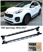 For KIA Sportage 2016 2017 Car Running Boards Auto Side Step Bar Pedals High Quality Brand